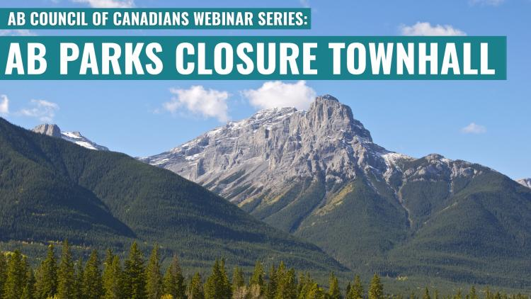 AB Parks Closure Town Hall Banner