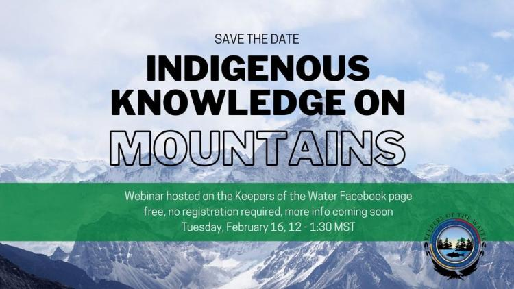 Indigenous Knowledge on Mountains Banner