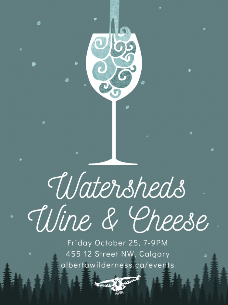 Watersheds, Wine & Cheese