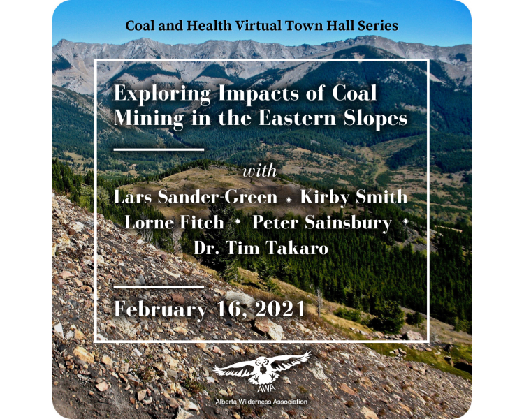 Coal & Health Town Hall Poster