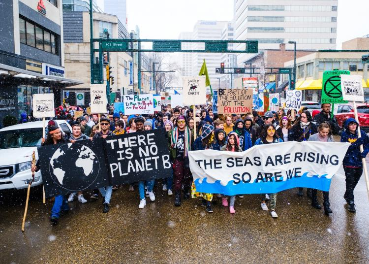 Edmonton Climate Strikers - photo