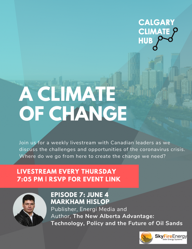 A Climate of Change Episode 7: Markham Hislop