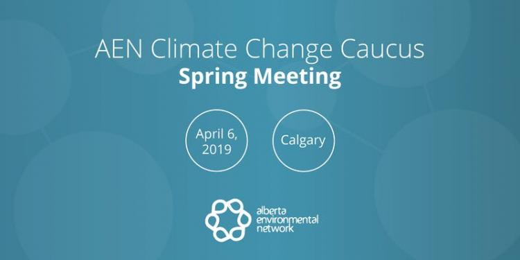 AEN Climate Caucus Spring Meeting