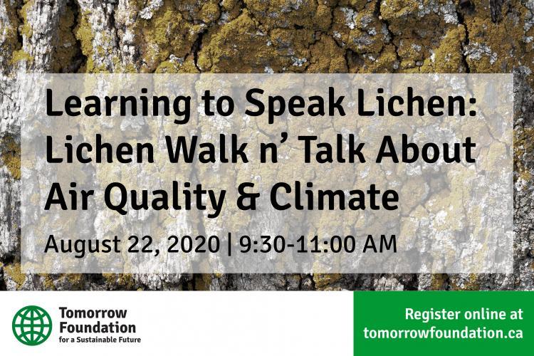 August 22 Lichens Walk Poster