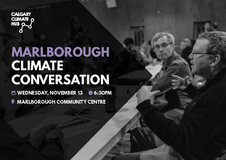 Marlborough Climate Conversation | Calgary Climate Hub