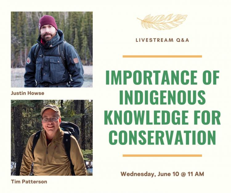 Importance of Indigenous Knowledge for Conservation Poster