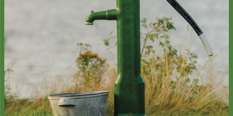 Photo of a green pump