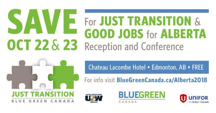 Just Transition Conference Banner