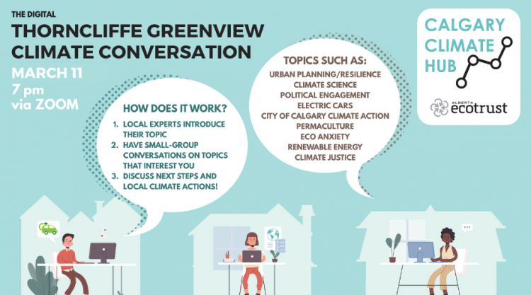 Thorncliffe Greenview Climate Conversation Poster