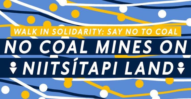 No Coal Mines on Niitsitapi Land
