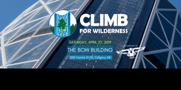 Climb for Wilderness Banner
