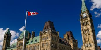 Canadian House of Commons in Ottawa