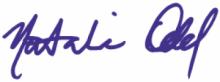 Natalie Odd Signature