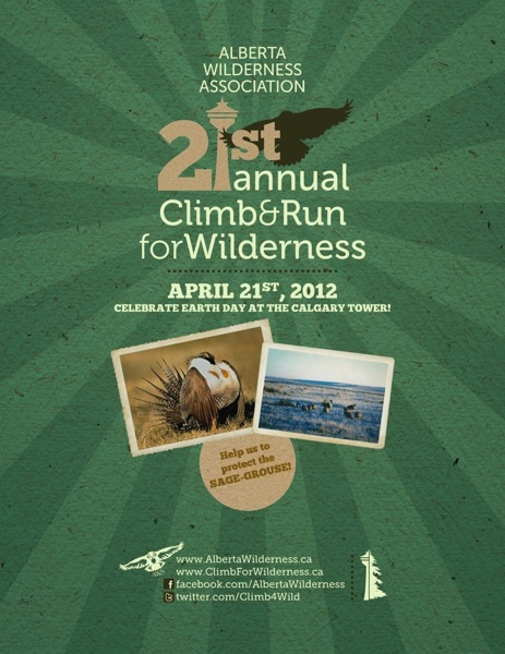 Climb & Run for Wilderness Poster